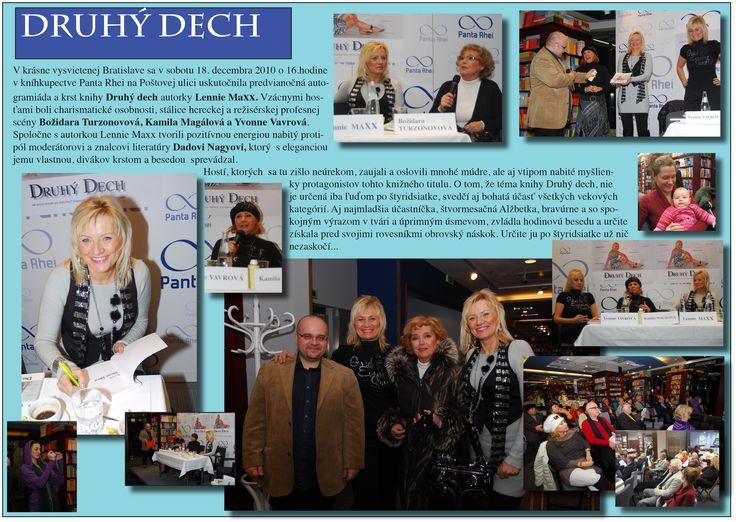 Autogramiada - Druhy dech - Bratislava (18.12.2010) - Lenniemaxx