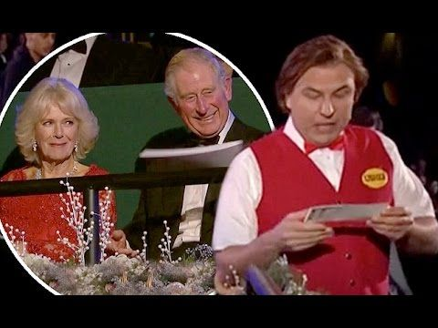 David Walliams Demands to See Prince Charles and Camilla's Tickets at Ro...