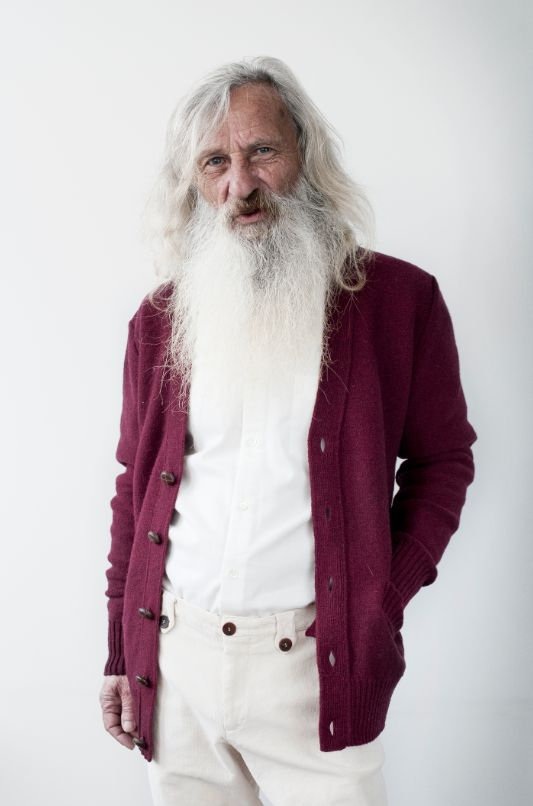 Beautiful Long Full Thick White Beard And Mustache Old