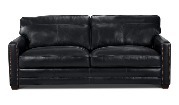 ber ideen zu ledersofa schwarz auf pinterest. Black Bedroom Furniture Sets. Home Design Ideas