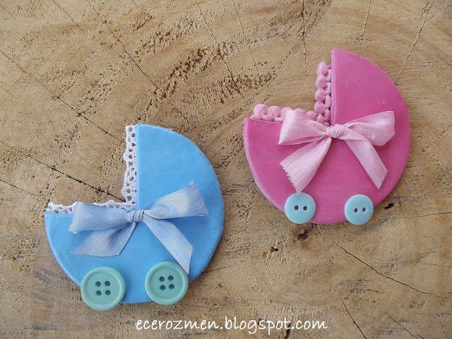 ecerce: bebek arabası- bebek şekerleri