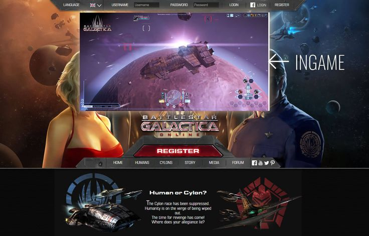 Sci-Fi game Battlestar Galactica Online is a F2P online game that has quite the graphics for a space shooter MMO.