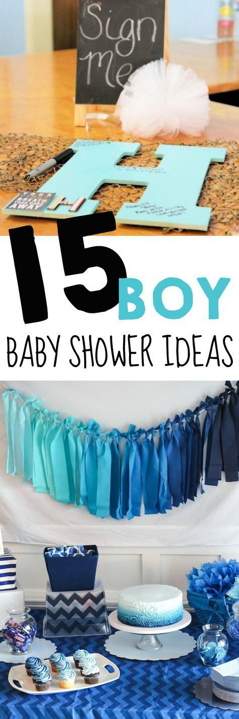 15 Baby Shower Ideas For Boys Kids Party Idea