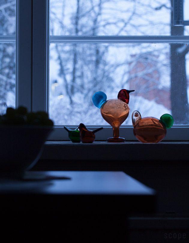 iittala / Birds by Oiva Toikka Sulo & Sorja