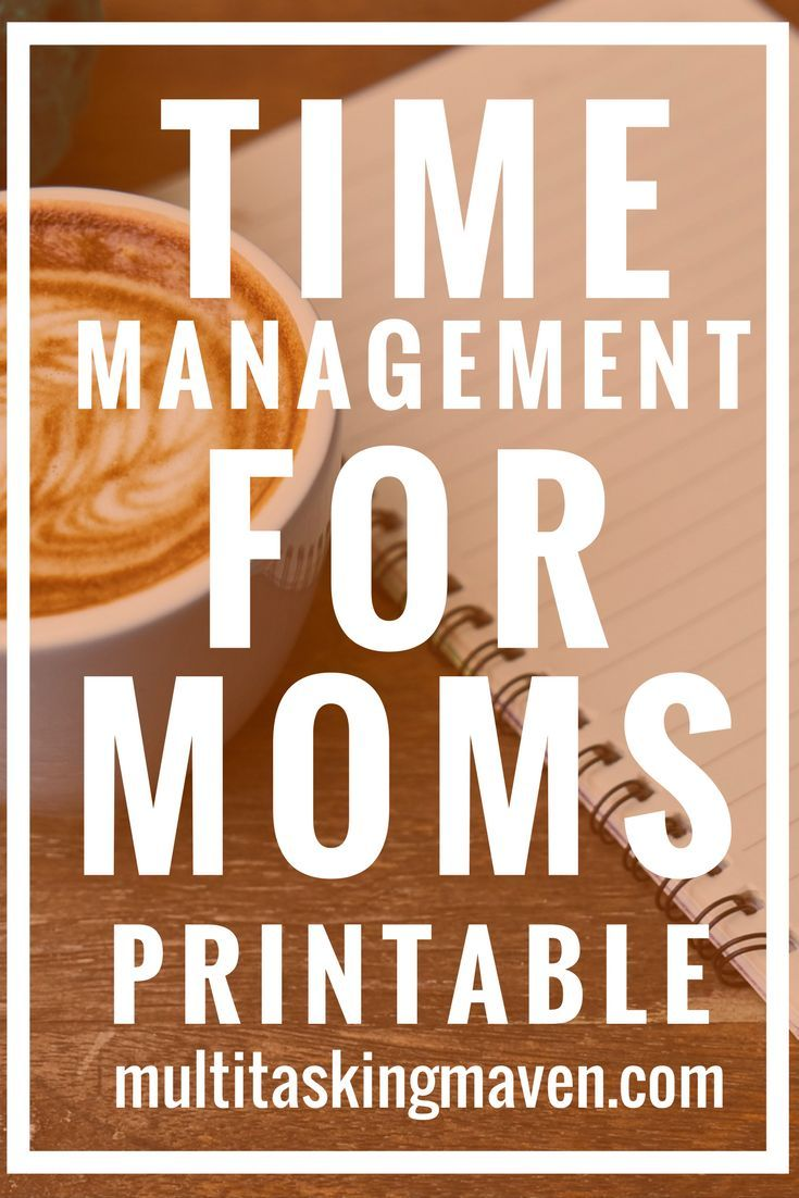 Time management for busy moms is a step by step plan to focus on one thing at a time to help get things done for work and home. Get your printable worksheets now! Productivity tips time management | Time management tips for moms articles | Time management for moms productivity #timemanagement #producitivity #schedules @multitaskingmaven