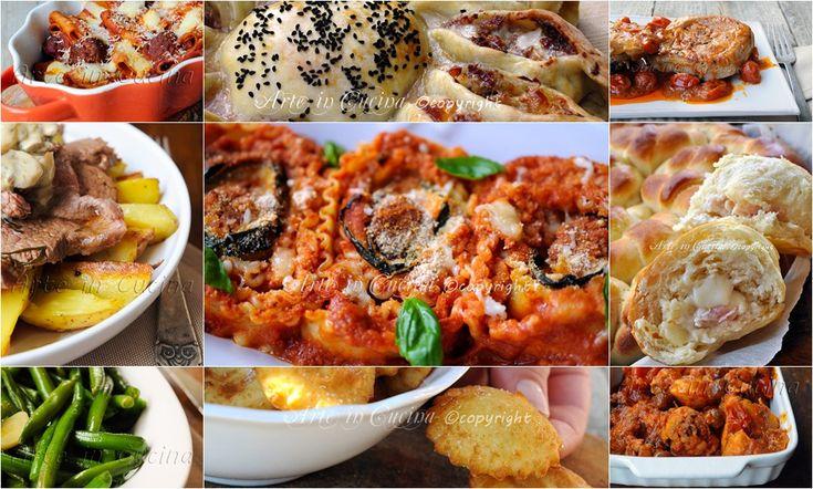 Menu di Pasqua 2015 ricette facili veloci economiche, menu a base di carne, ricette saporite da preparare in poco tempo, contorni con verdure, primi e secondi