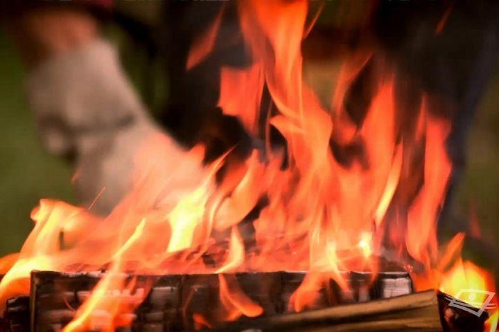 Quel objet permettra de faire bouillir de l'eau sur un feu?