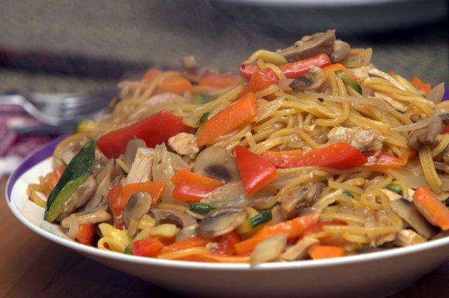 food&crafts: Yakisoba verdura e pollo
