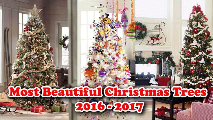 New Christmas Tree Decorating Ideas 2016 2017 Decor