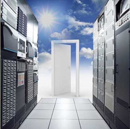 Cloud computing is not really like entering the after life...