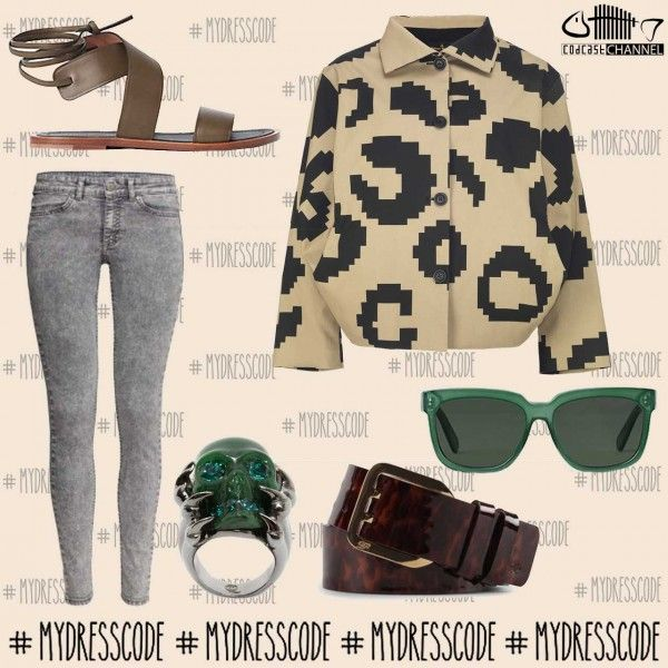 Sunglasses and Sandals CELINE – Jeans H&M – Blouse VIVIENNE WESTWOOD – Belt DSQUARED2- Ring ALEXANDER MCQUEEN #alexandermcqueen #worldmcqueen #celine #clelineparis #hm #viviennewestwood #dsquared2 #newcollection #springsummer2014 #ss14 #fashion #style #trends #outfit #outfitoftheday