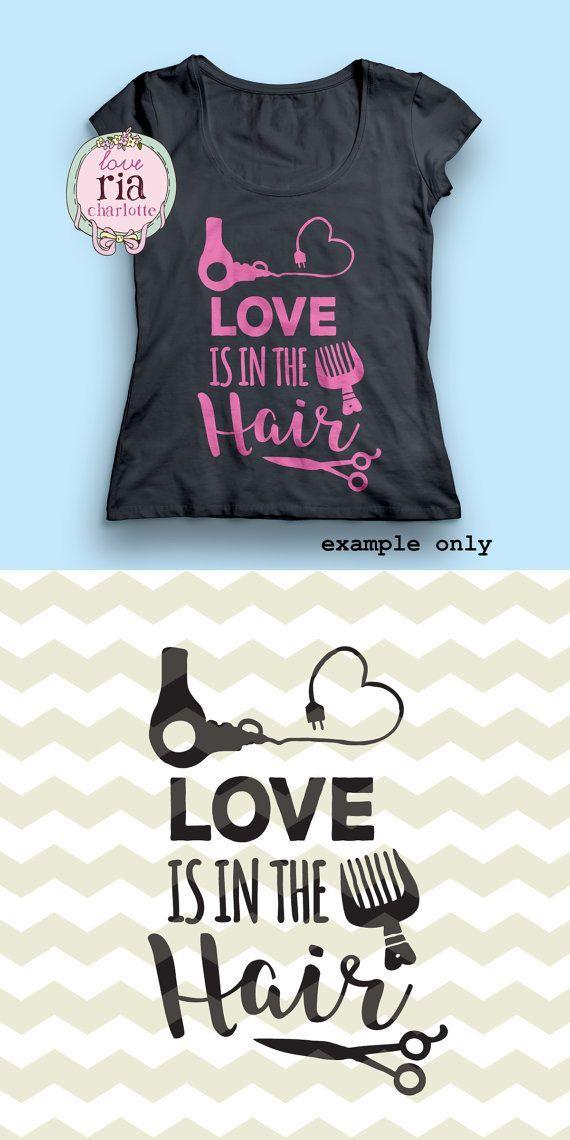 Download Love is in the hair, fun stylist hairdresser beauty salon ...