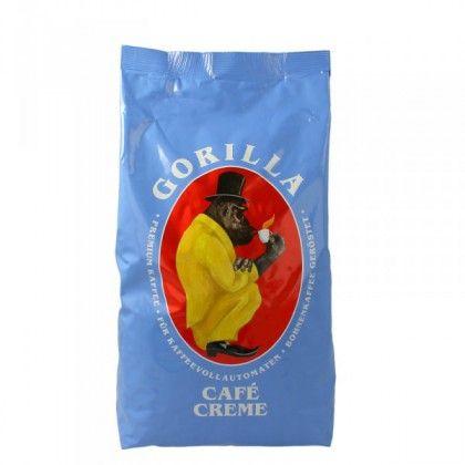 Gorilla Cafe Creme 1000g Bohnen