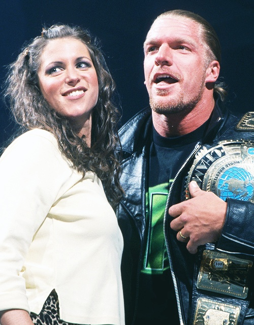 Stephanie McMahon & Triple H #wwe