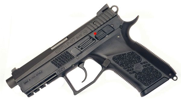 CZ P07 Duty, Night Sights, 9mm: