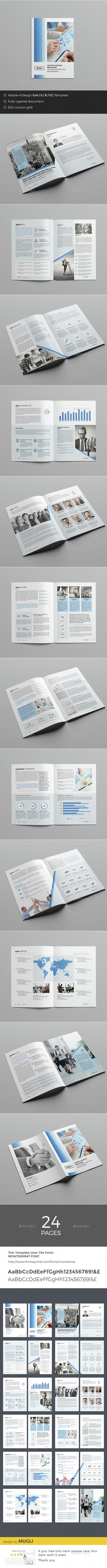 Business Brochure Template InDesign INDD. Download here: http://graphicriver.net/item/business-brochure/15067872?ref=ksioks