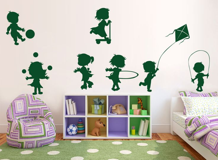 Kids Room Wall Decal Modern Wall Decal By Transformyourwall Part 85