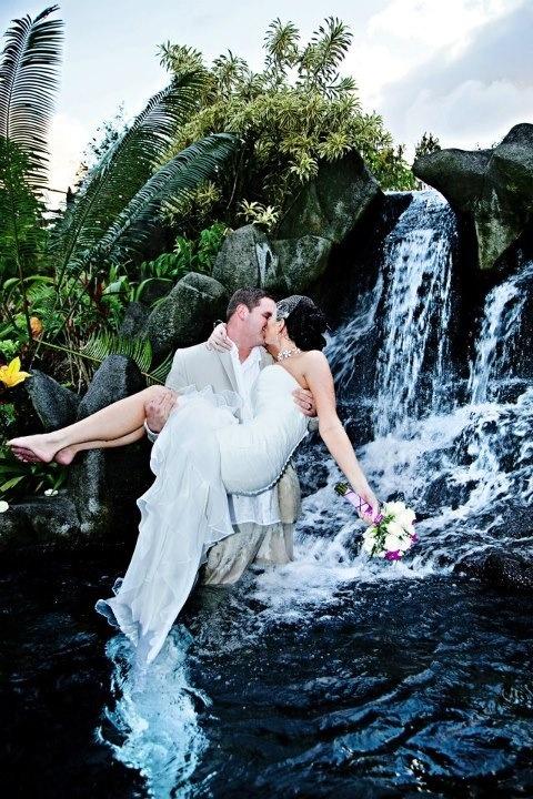 Arenal Volcano Natural Hot Springs Waterfall La Fortuna Costa Rica
