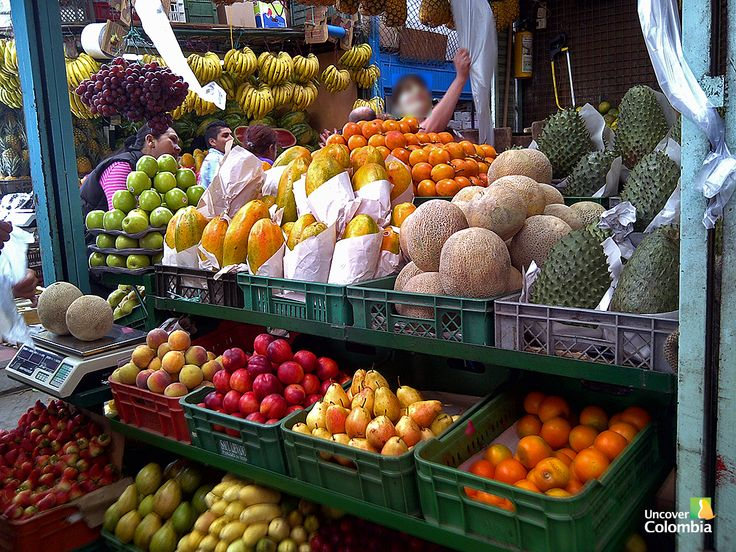 Fruit stall - Bogota, Colombia