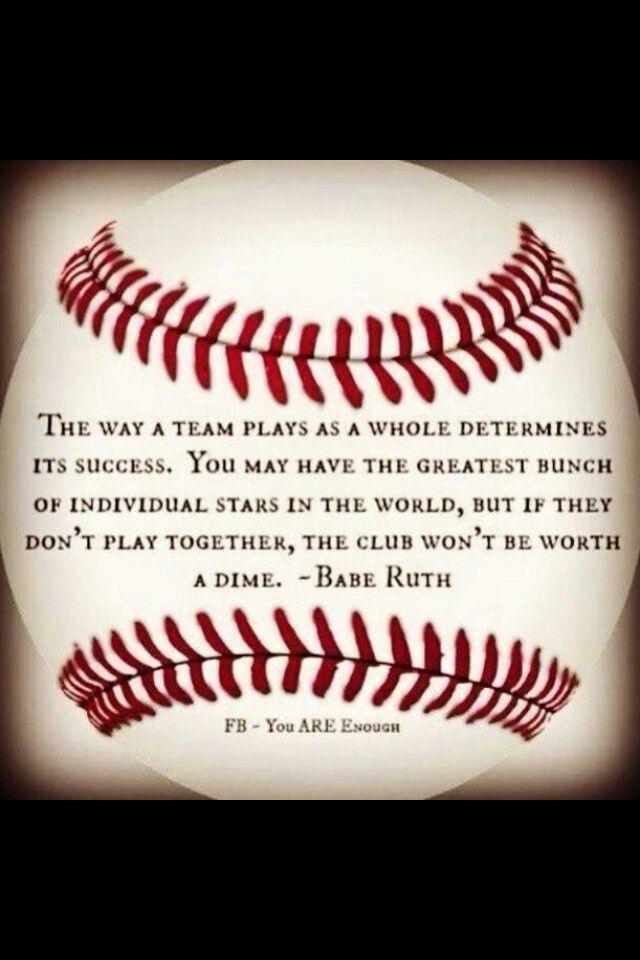 Baseball teamwork