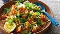 Teplý salát z quinoy a dýně Foto: