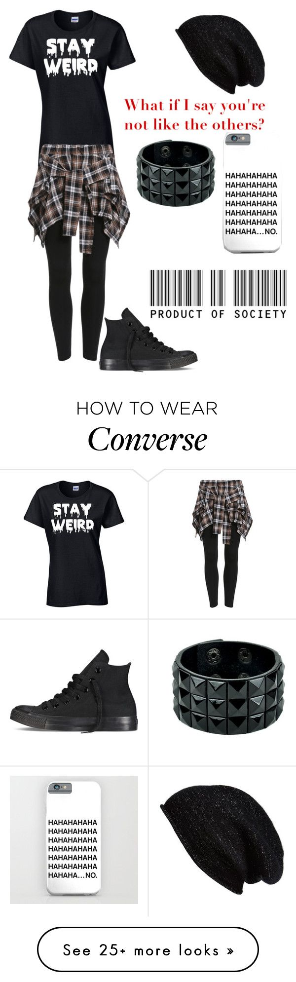 """Untitled #559"" by bands-music on Polyvore featuring Converse and Halogen"