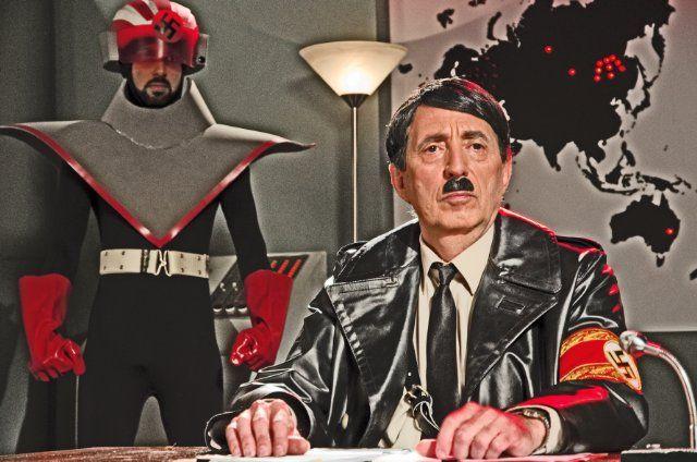 Danger 5 - Carmine Russo as Adolf Hitler