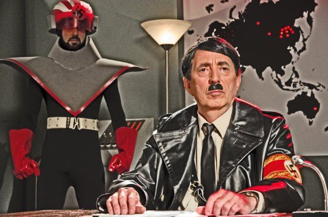 Danger 5 - Carmine Russo as Adolf Hitler
