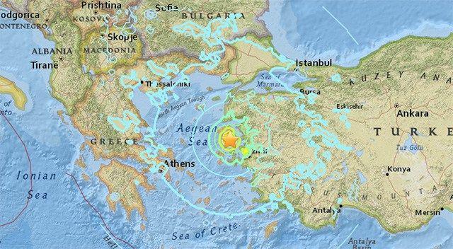 Vor der Westküste der Türkei hat sich ein schweres Erdbeben ereignet. Der Erdstoß war bis nach Athen zu spüren und richtete auf der griechischen Insel Lesbos Schäden an. Mehrere Menschen wurden ver…
