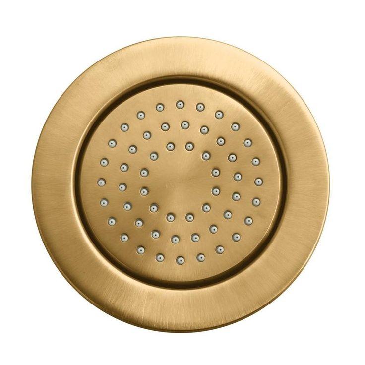 KOHLER WaterTile Vibrant Brushed Bronze Bathtub and Shower Jet