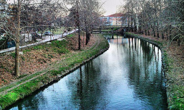 #Trikala #River in #Autumn, # Greece