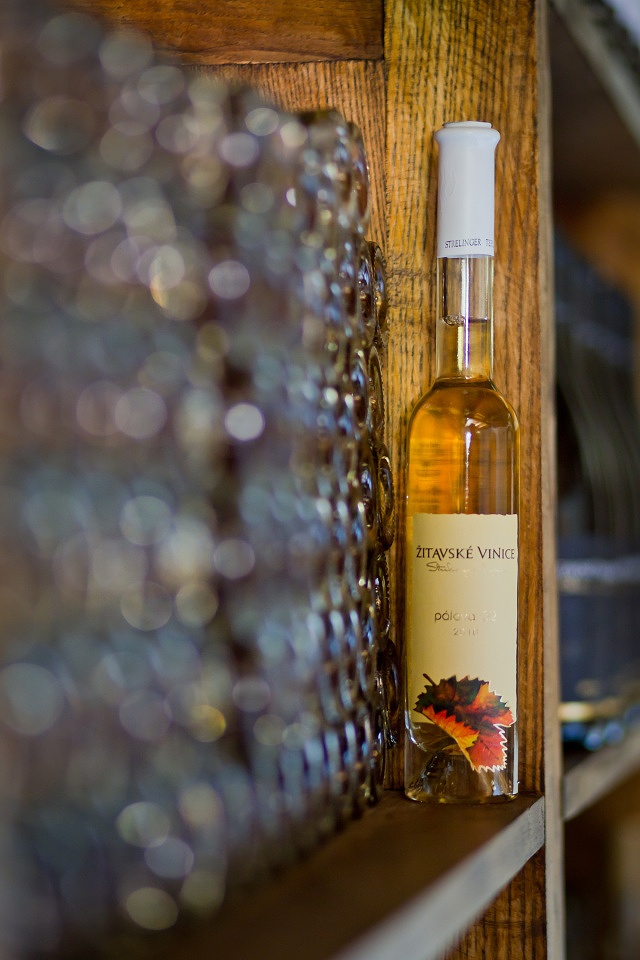 Straw dried wine made from Moravian grape variety Palava.