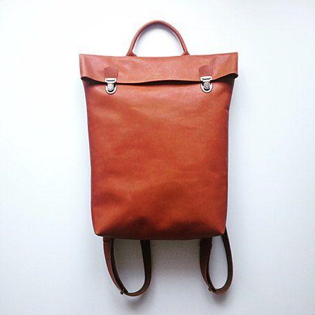Рюкзак кожаный Copper от TheSneg