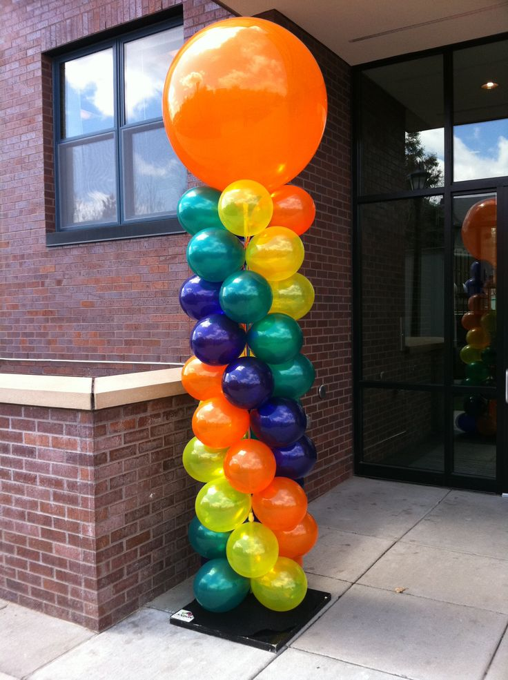 Balloon Backdrop Balloon Columns Balloons Backdrops Centerpieces