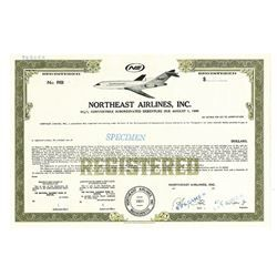 Northeast Airlines, Inc., ca.1960-1970 Specimen Bond - Archives International Auctions