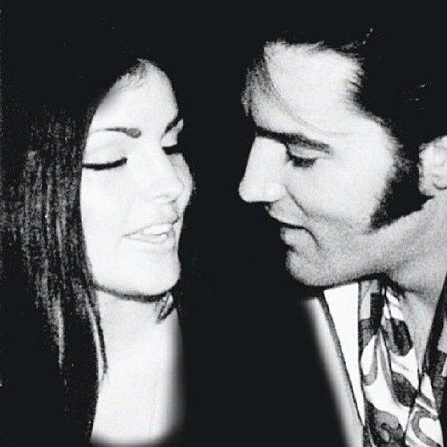 Elvis and Priscilla They were so beautiful together. Always wish they could have made it.