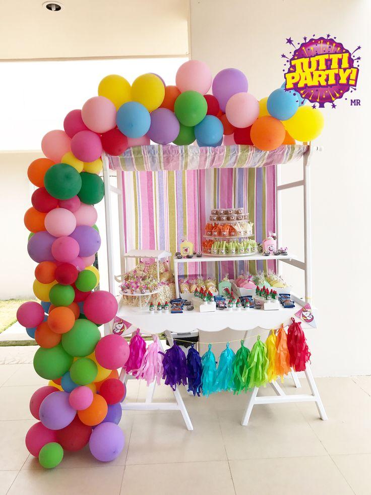 balloons garland rainbow balloons garland unicorn and rainbow party ideas decoracin para fiestas playa