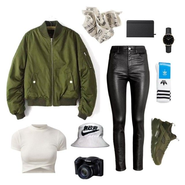 """""""Set #37"""" by jeongmina on Polyvore featuring Shinola, H&M, NIKE, adidas and ROSEFIELD"""