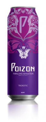 Poizon troxotic energy drink #packaging