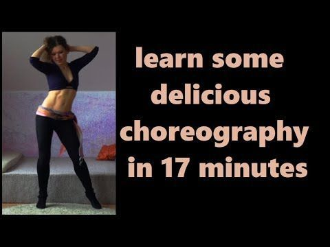 Belly Dance Fitness Calorie Burn - Shimmy Challenge - YouTube