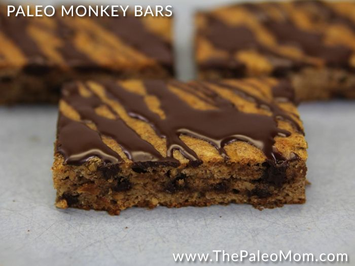 If you aren't familiar with monkey bars, they are a brownie-like or coffee cake-like treat with the magical combination of peanut butter, banana and chocolate.  Kind of like a banana bread but with much more than a hint of peanut butter and chocolate.   Yeah, I know… drool.   Well, I though it was high …
