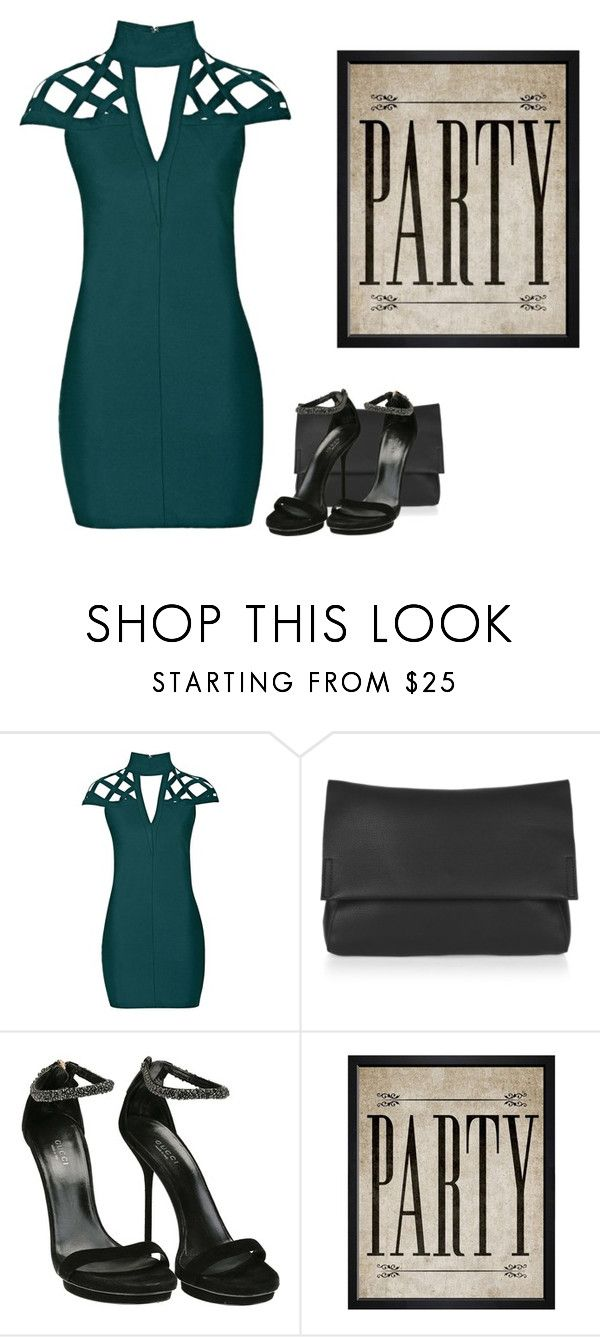 """""""Party time"""" by monika1555 on Polyvore featuring Rare London, Topshop, Gucci and Hatcher & Ethan"""