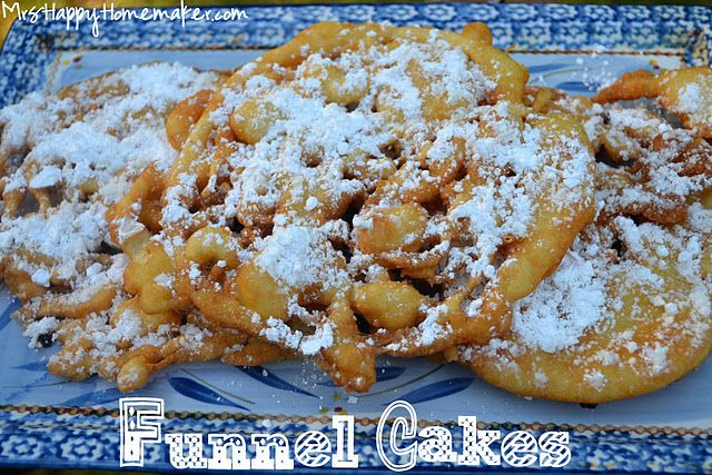 A Weekend At The Fair At Home Part 1 Funnel Cakes