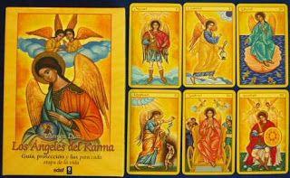 sibila esotérica: LOS ÁNGELES DEL KARMA, LIBRO Y BARAJA.