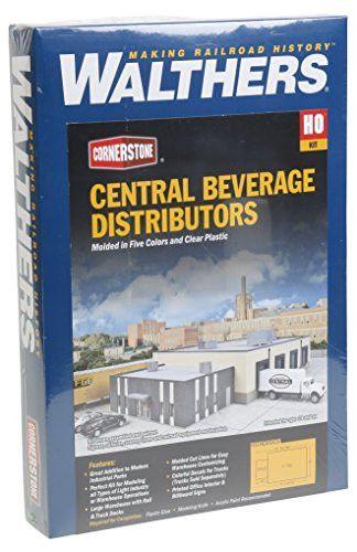 Walthers Cornerstone Central Beverage Distributors Train