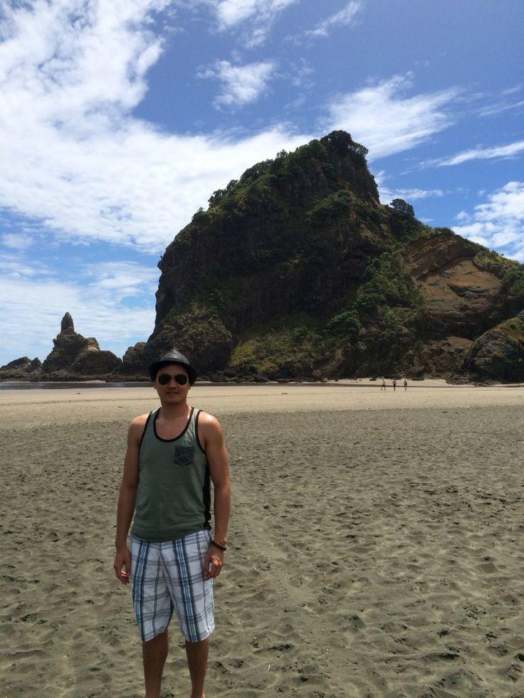 Lion's Rock, Piha Beach