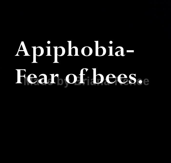Yes. I'm terrified of all bugs. No joke. Unless it's ladybugs, butterflies, rollypollies, lightning bugs, or worms. I'm sure there are a couple more but other then that keep away from me!