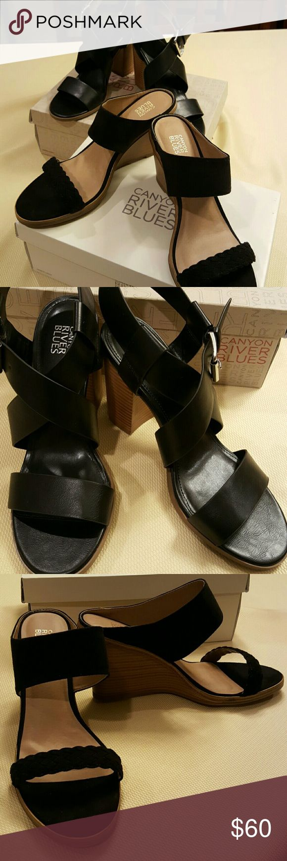"""'Final Sale' Bundle 2 pair Canyon River Blues Shoe Brand new still in box. 4"""" heel on both. Canyon River Blues  Shoes"""