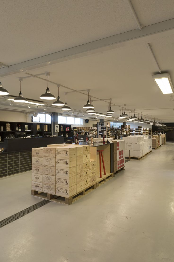 Our Warehouse Shop in Basingstoke, Hampshire. Photography by Joakim Blockstrom.