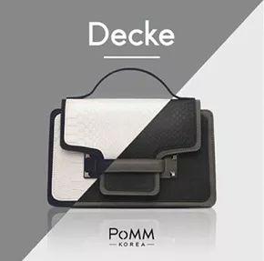 DECKE BAG / SUPER PREMIUM KOREAN WOMEN BAG / HIGH QUALITY / IMPORT / PoMM Korea